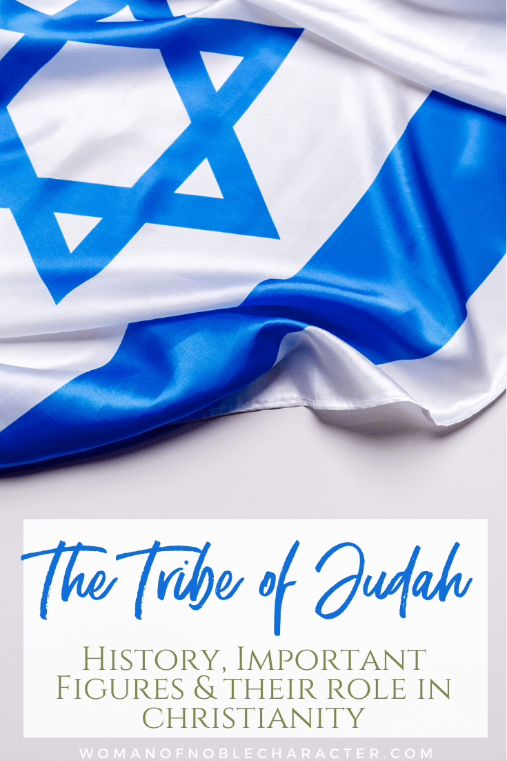 An image of the flag of Israel - the Tribe of Judah