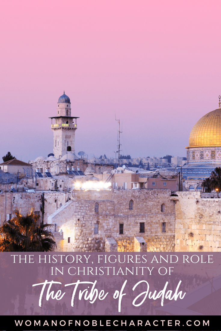 An image of Israel at sunset - The Tribe of Judah