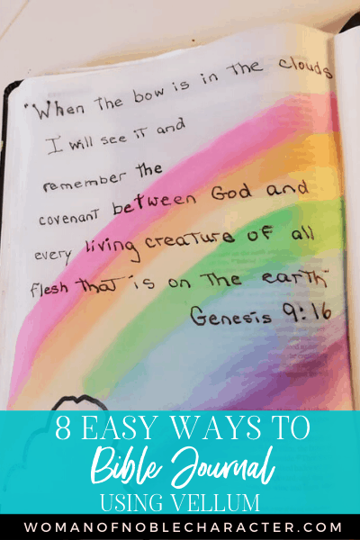 5 Easy Ways to Bible Journal with Vellum