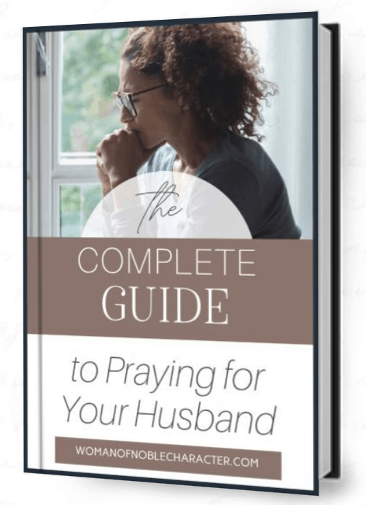 The Ultimate Guide to Praying for your husband ebook cover