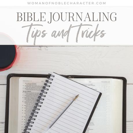 Bible Journaling Tips and Tricks
