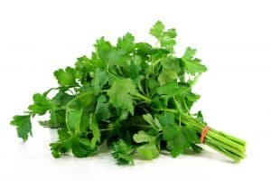 Parsley, uses for biblical spices