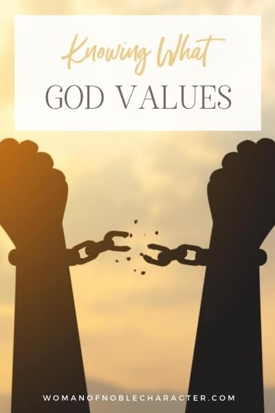 Knowing What God Values