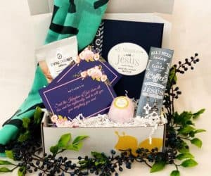 Butterfly box Christian subscription past boxes
