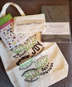 spiritual seeds Christian planner teen challenge kit