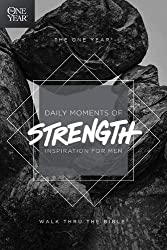 one year daily moments of strength men's devotional