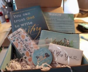 Butterfly box, Christian subscription box February 2021