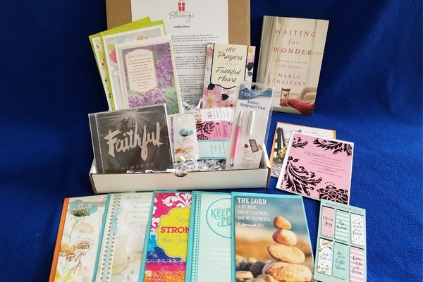 Bettes box of blessings box Christian monthly subscription box