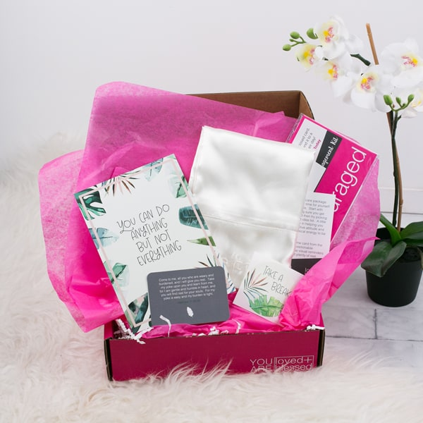 Loved and blessed Christian subscription box for women
