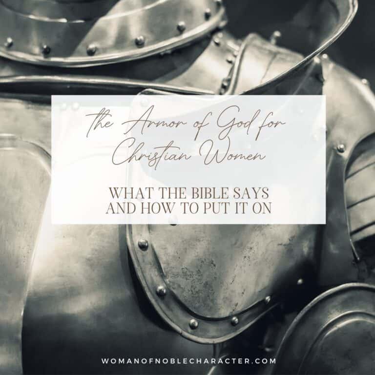 The Armor of God for Christian Women