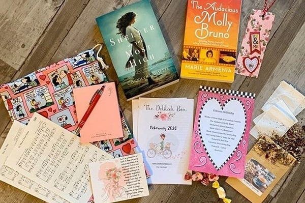 delilah box - women of the Bible Christian subscription box for book lovers