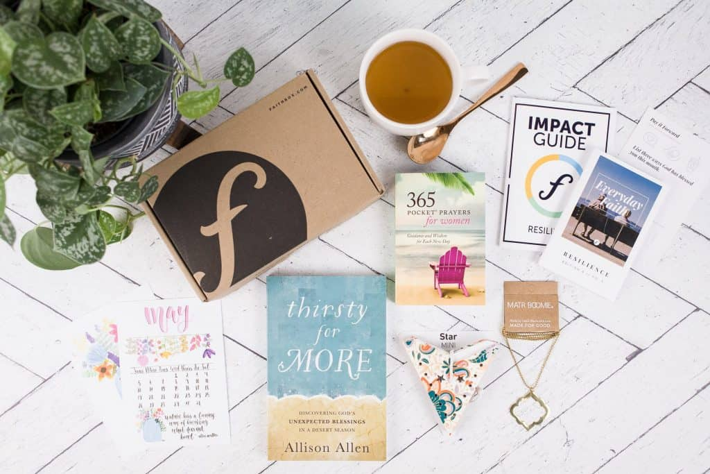 faithbox Christian monthly subscription box