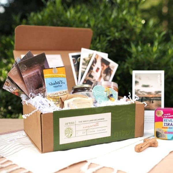 Artza box contents; Holy Land subscription box