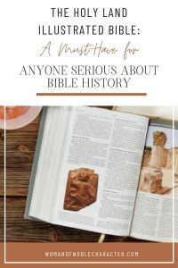 The Holy Land Illustrated Bible_ A Must-Have For Anyone Serious About Bible History