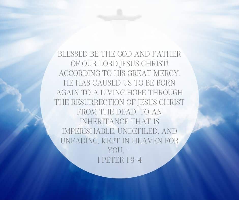 1 Peter 1:3-4 Inheritance in Christ