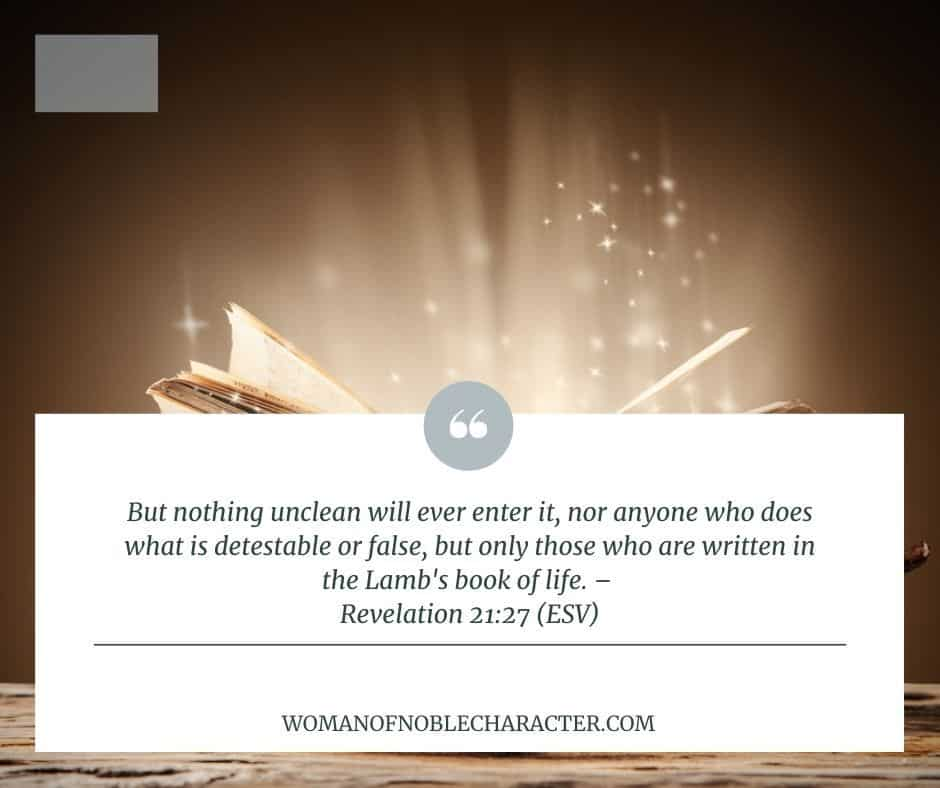 Revelation 21:27 Inheritance in Christ