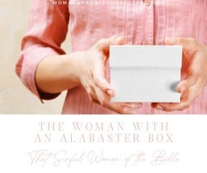 An image of a woman holding a white box with the title,
