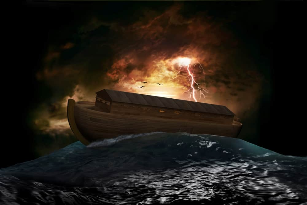 Noah's ark and great flood; surviving tragedy;