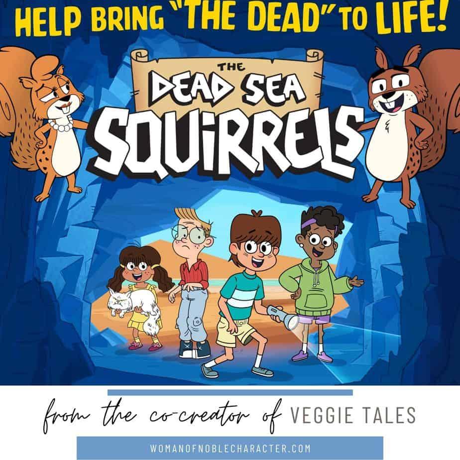 Dead sea squirrels animated film promo