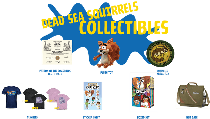 dead sea squirrels donation gifts