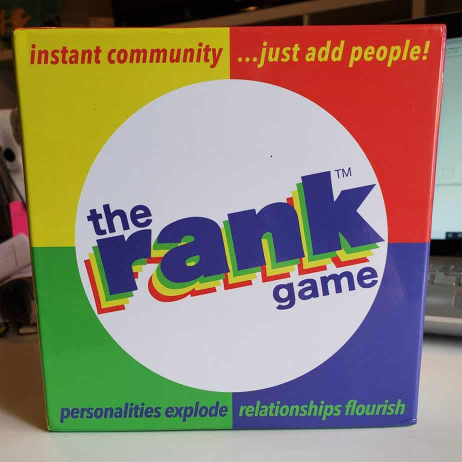 The Rank Game box