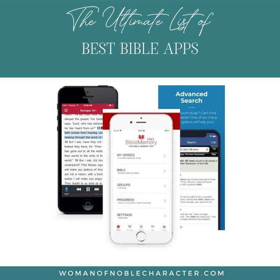The Ultimate List of Bible Apps For Reading, Study and Connection