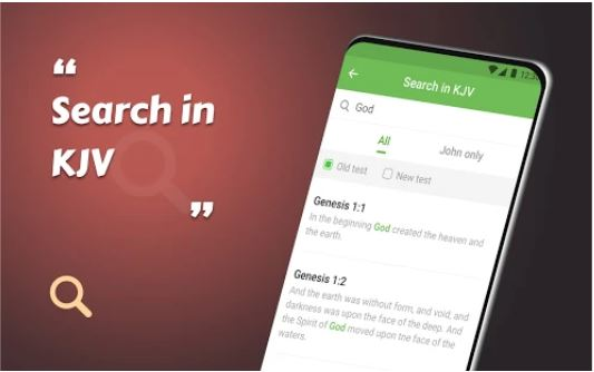 KJV Bible app