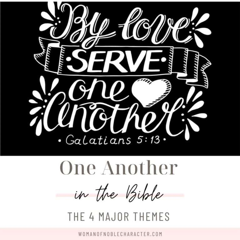 A Deeper Look at One Another in the Bible and Its 4 Major Themes