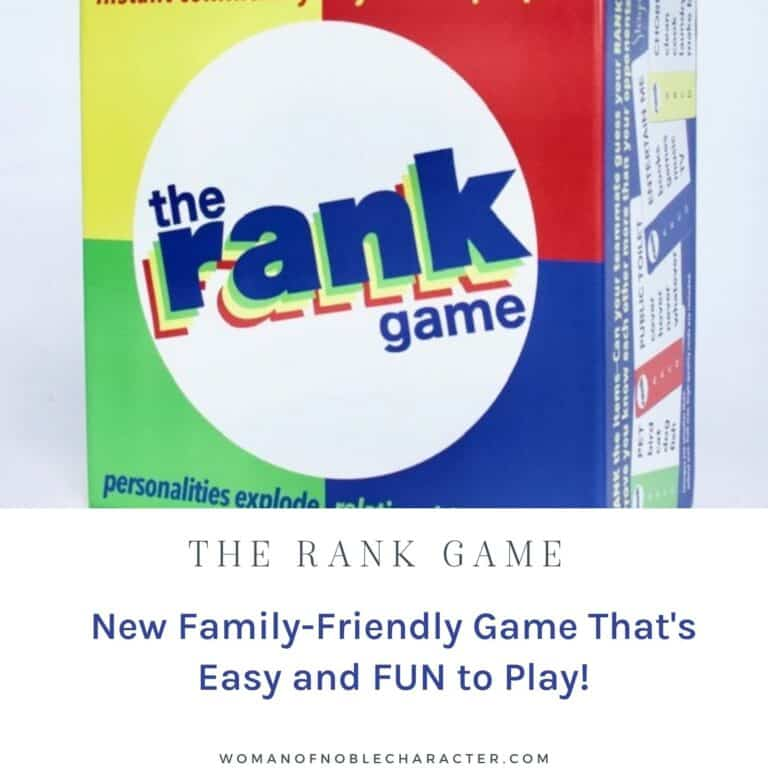 The Rank Game: New Family-Friendly Game That's Easy and FUN to Play!