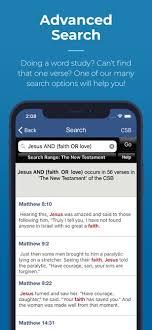 Blue letter Bible app screenshot; best Bible apps for Bible study