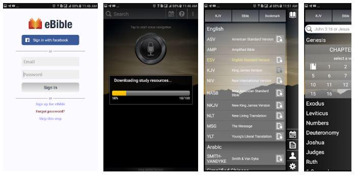 eBible app