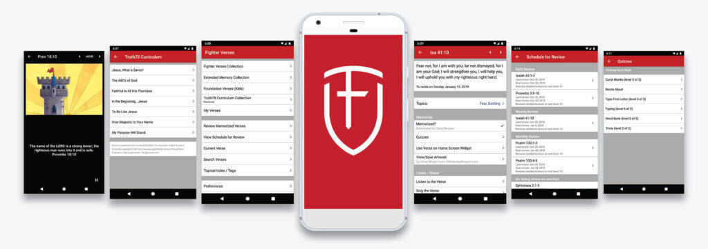 Fighter verse Bible app for memorization