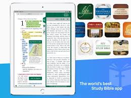 Tecarta Bible app screenshot