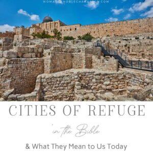 ancient israel city; city of refuge