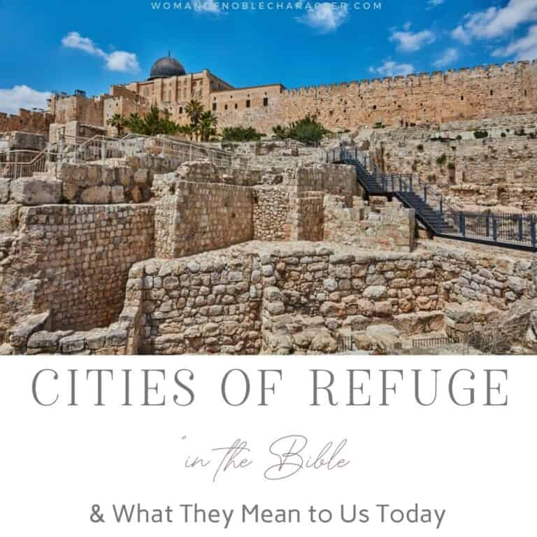 Cities of Refuge in the Bible: A Look at What Scripture Says and What it Means to Us Today