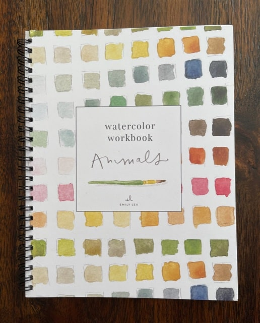 Emily Lex watercolor workbook animals