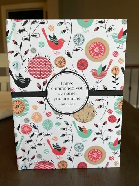 Paper Sunday, Christian planner, cover view, hardcover