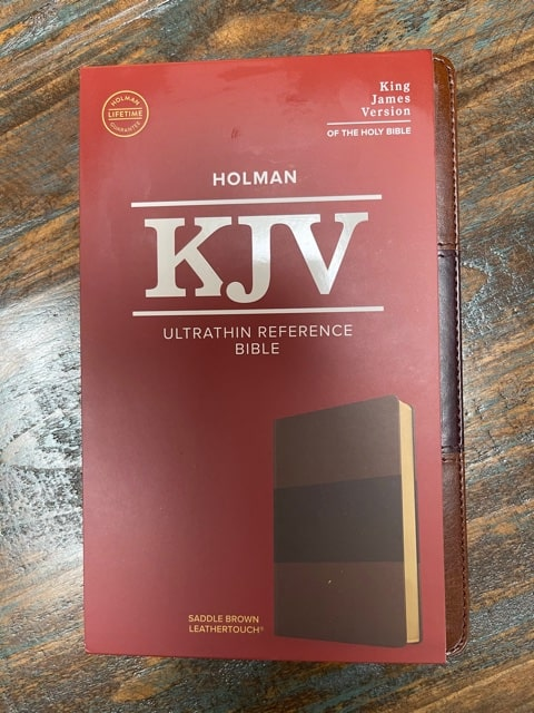 KJV Study Bible cover