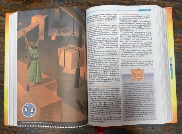 KJV BIble for kids; One Big Story Bible