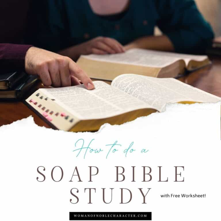 The SOAP Bible Study Method: 4 Simple Steps to Understanding God's Word