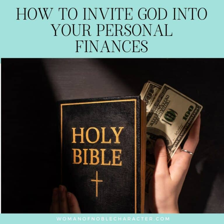 4 Ways to Invite God Into Your Personal Finances