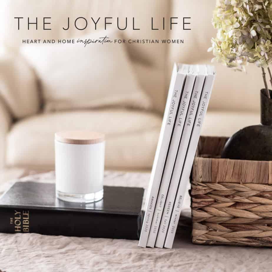 The Joyful life magazine 2020 set