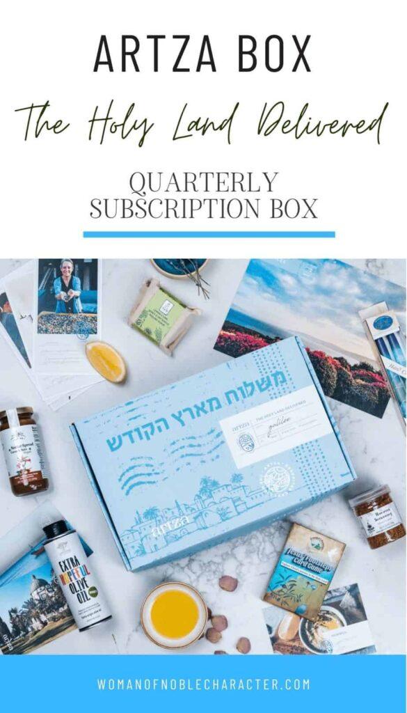 artza box; Christian subscription boxes