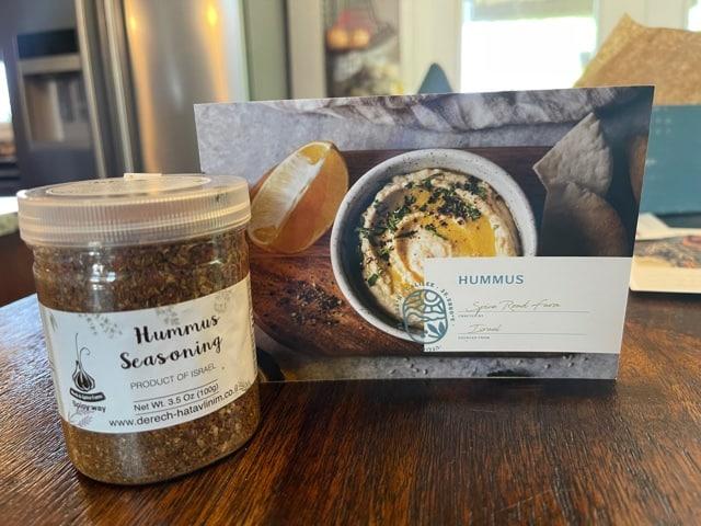 hummus, spice road farm, Artz box, subscription box
