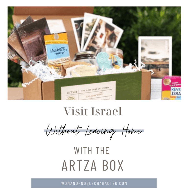 Unboxing and Review of the Artza Box, Gifts From the Holy Land