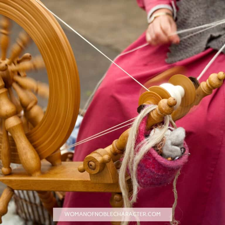 Holding the Distaff? What Proverbs 31:19 Really Means in Modern Society