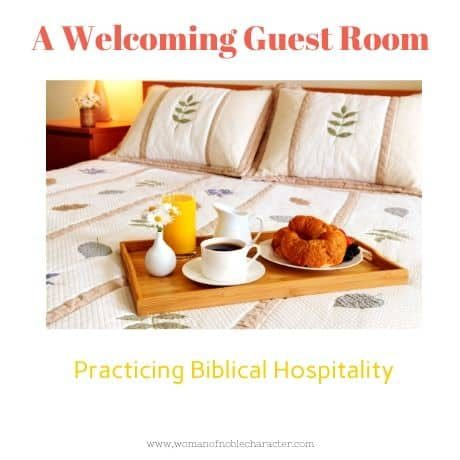 A Welcoming Guest Room