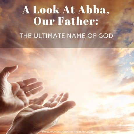 Abba Our Father Names of God