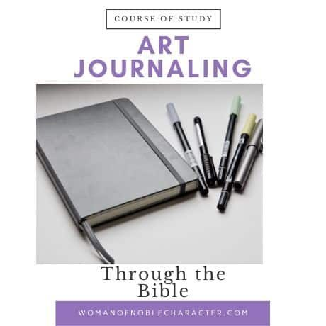 Art Journaling Through the Bible Course