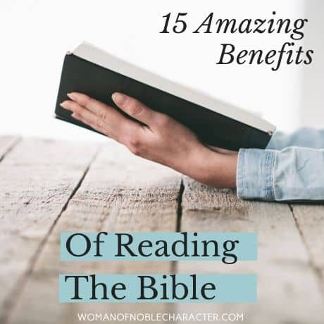 Benefits of reading the Bible